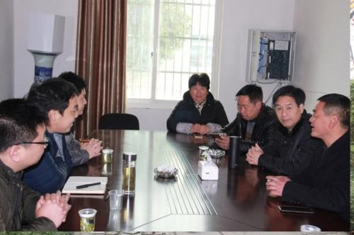 【党群园地】杭安公司——走访梓洲村  共叙结对情