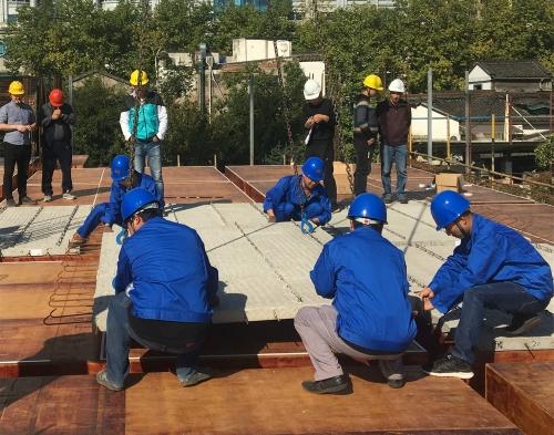 【转型升级】杭州建工首个装配式公共建筑PC构件成功吊装