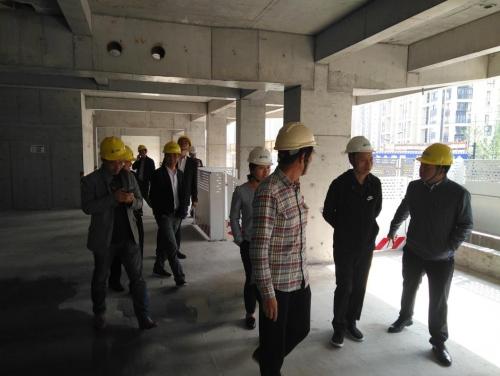 【领导关怀】江西萍乡市建设局黎兵局长一行到绿城杨柳郡四期项目考察交流学习