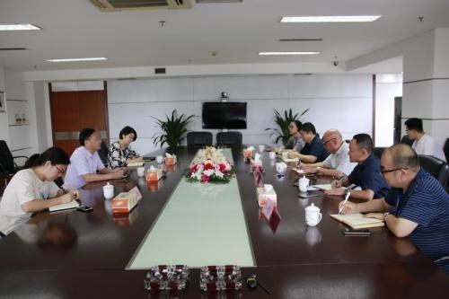 【领导关怀】市建委主任孔春浩莅临杭州建工集团开展高层次管理人才对接走访