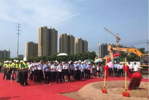 【一线投影】灵璧万汇城二期项目开工仪式顺利举行