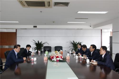 【领导关怀】市城投集团总经理李红良赴杭州建工调研指导工作