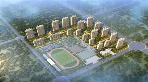【一线投影】固镇碧桂园项目南区块开工