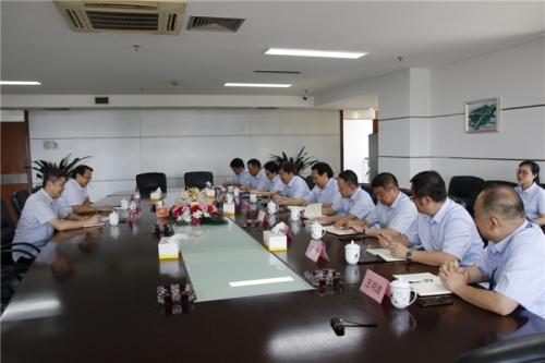 【领导关怀】市城投集团党委副书记郭东晓一行赴杭州建工集团走访调研