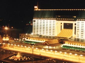 城站站前高架广场