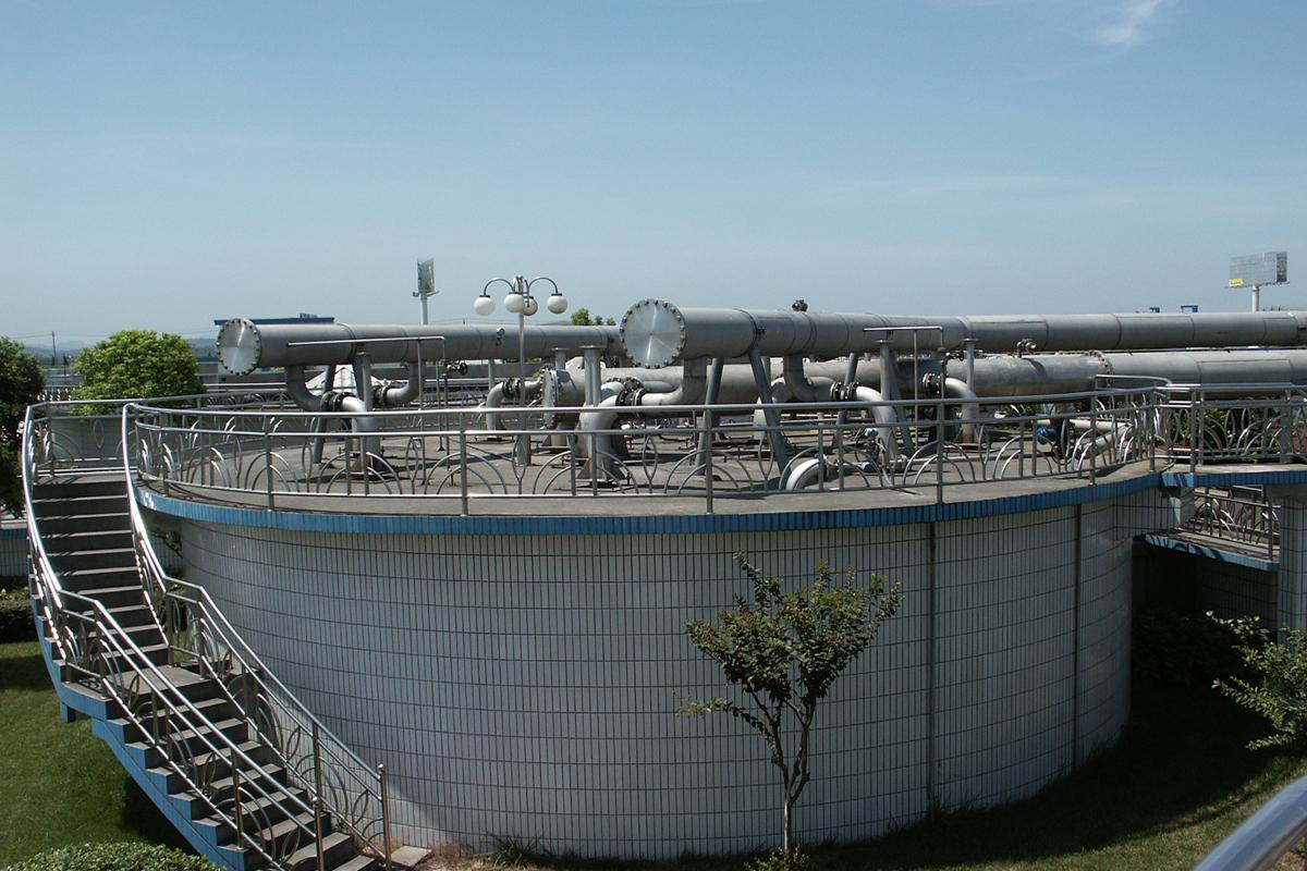 ballbet体育平台萧山污水处理工程(日处理12万吨)